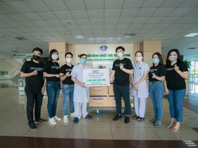 GCOOP Việt Nam trao tặng phần quà trị giá hơn 1,8 tỷ cho các bệnh viện tuyến đầu phòng, chống dịch Covid-19