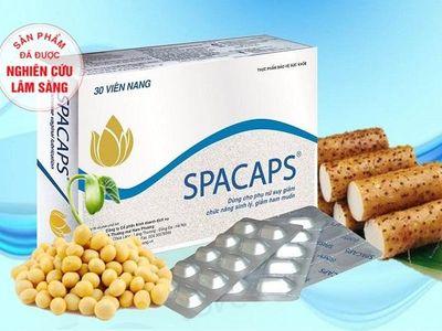 Sản phẩm thảo dược Spacaps - Giải pháp giúp kích thích cơ thể tự sản sinh nội tiết tố, lấy lại vẻ đẹp từ bên trong cho phái nữ