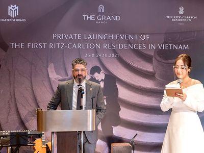 Toàn bộ căn hộ hàng hiệu Ritz-Carlton, Hanoi trong đợt mở bán đầu tiên đã có chủ