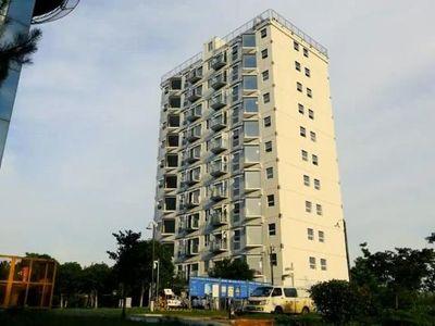 Trung Quốc gây 'sốc' khi xây chung cư 10 tầng chỉ trong 28 giờ