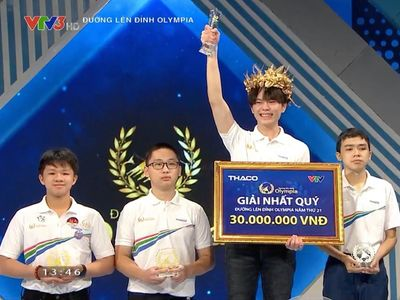 Nam sinh Nghệ An giành tấm vé cuối cùng vào chung kết Olympia 2021