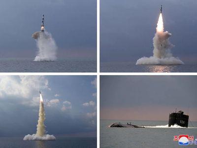 Triều Tiên hé lộ về tên lửa đạn đạo phóng từ tàu ngầm mới được thử nghiệm