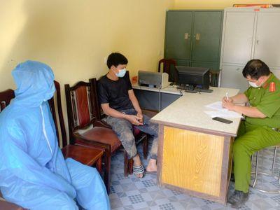 Xác minh thông tin thanh niên đi từ quận Cầu Giấy về Quảng Ninh, băng rừng trốn khai báo y tế