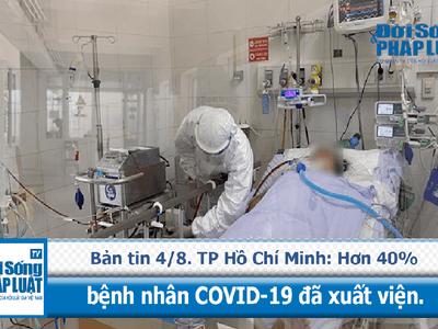 TP Hồ Chí Minh: Hơn 40% bệnh nhân COVID-19 đã xuất viện.