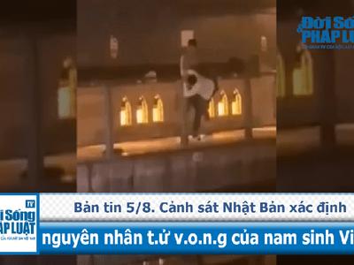 Cảnh sát Nhật Bản xác định nguyên nhân tử vong của nam sinh Việt.