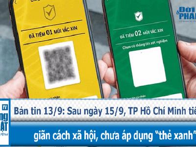 """Sau ngày 15/9, TP Hồ Chí Minh tiếp tục giãn cách xã hội, chưa áp dụng """"thẻ xanh"""""""