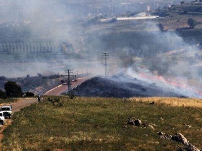 Israel bất ngờ hứng loạt rocket từ phía Syria, không có thương vong