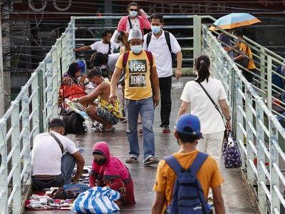 Philippines phong tỏa vùng thủ đô Manila sau khi bị biến thể Delta hoành hành