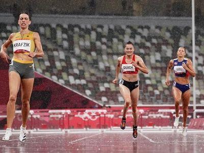 Olympic Tokyo 2020: Quách Thị Lan dừng bước ở nội dung 400m rào nữ