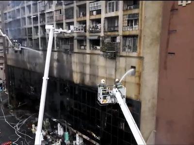 Hiện trường vụ cháy chung cư kinh hoàng khiến 46 người thiệt mạng