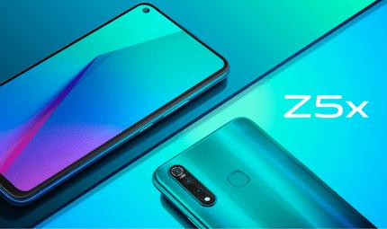 Sản phẩm số - Ra mắt Smartphone Vivo Z5x màn hình đục lỗ giá từ 4,7 đến 6,7 triệu đồng