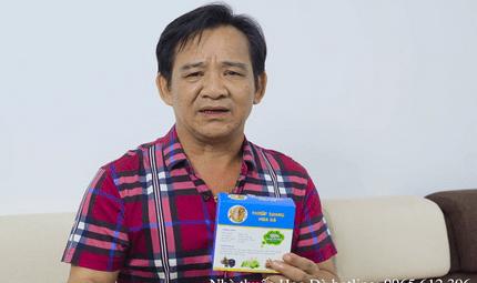 Y tế - Bị xoang 20 năm, nghệ sĩ Quang Tèo trị dứt điểm nhờ Xoang Hoa Đà