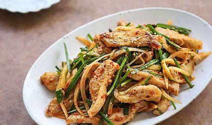 Ăn - Chơi - Học người Hàn làm món thịt trộn siêu tốc, cả nhà ăn khen không hết lời