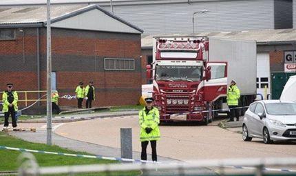 Tin thế giới - Anh tập trung vào những nút thắt quan trọng vụ 39 thi thể trong container