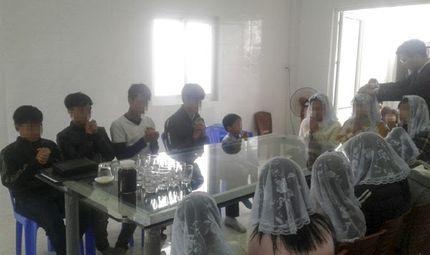"""Tin trong nước - Xử lý hàng loạt tụ điểm """"Hội thánh Đức chúa trời Mẹ"""" hoạt động trở lại ở Thừa Thiên - Huế"""
