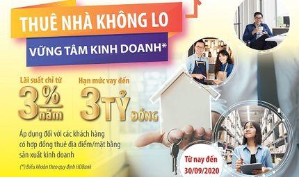 Thị trường - Thuê nhà không lo, vững tâm kinh doanh cùng gói ưu đãi của HDBank