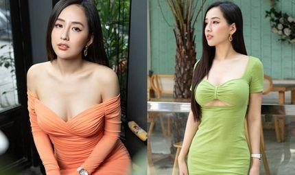 """Tin tức giải trí - Mai Phương Thúy diện váy bó sát, vai trần lẫn vòng một """"lấp ló"""" khiến fan mê đắm"""