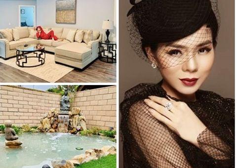 Tin tức giải trí - Nữ ca sĩ Lệ Quyên khoe căn biệt thự sang trọng ở Mỹ