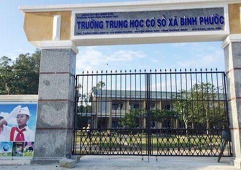 """Giáo dục pháp luật - Thầy giáo ở Quảng Ngãi dọa dùng lựu đạn """"xử"""" hiệu trưởng"""