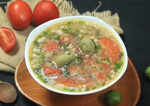 Ăn - Chơi - Cách nấu canh sấu thịt băm thơm ngon, giải nhiệt ngày nắng nóng