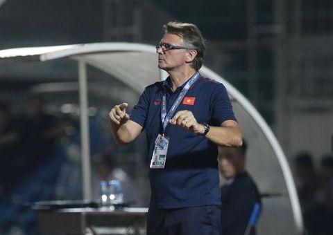 Thể thao - HLV Philippe Troussier thất vọng sau chiến thắng nhọc nhằn của U19 Việt Nam