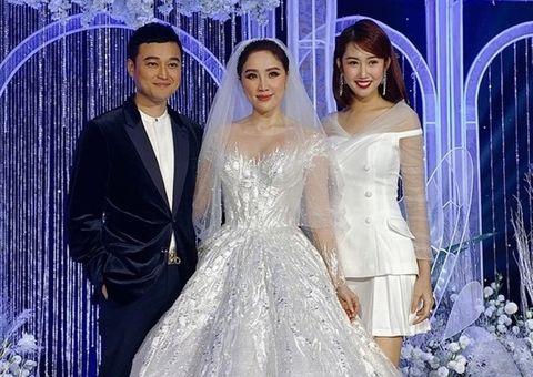 Giải trí - Những điểm đặc biệt bất ngờ của 3 chiếc váy Bảo Thy diện trong ngày cưới