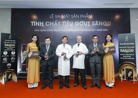 Y tế - Tinh chất tiêu Gout SANGU, niềm hi vọng mới cho người bệnh Gout nhờ công nghệ tiêu gout hàng đầu Nhật Bản.