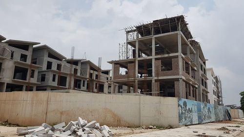 """Khai Sơn Hill """"vô tư"""" xây 26 biệt thự không giấy phép  - Ảnh 3"""