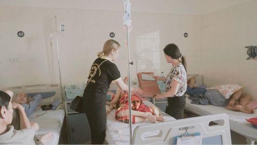 Tết Trung thu ấm áp tại khoa Nhi bệnh viện K Tân Triều  - Ảnh 4
