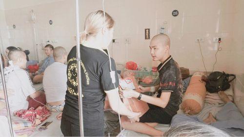 Tết Trung thu ấm áp tại khoa Nhi bệnh viện K Tân Triều  - Ảnh 6