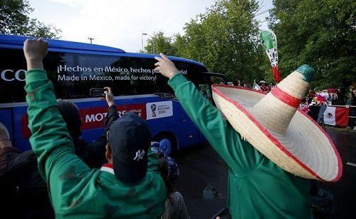 Hình ảnh màn tổng duyệt cuối cùng trước giờ khai mạc World Cup 2018 - Ảnh 9