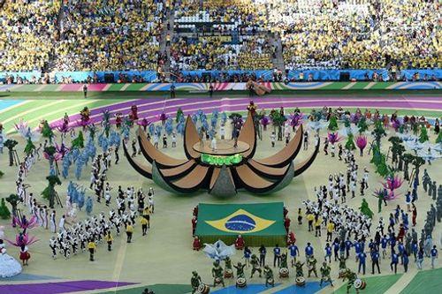 Hình ảnh màn tổng duyệt cuối cùng trước giờ khai mạc World Cup 2018 - Ảnh 2