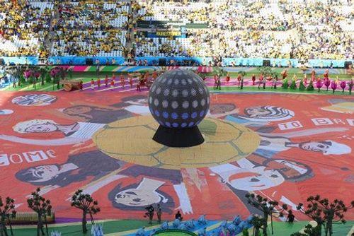 Hình ảnh màn tổng duyệt cuối cùng trước giờ khai mạc World Cup 2018 - Ảnh 3