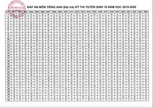 Đáp án, đề thi môn tiếng Anh vào lớp 10 mã đề 011 tại Hà Nội chuẩn nhất, nhanh nhất - Ảnh 5
