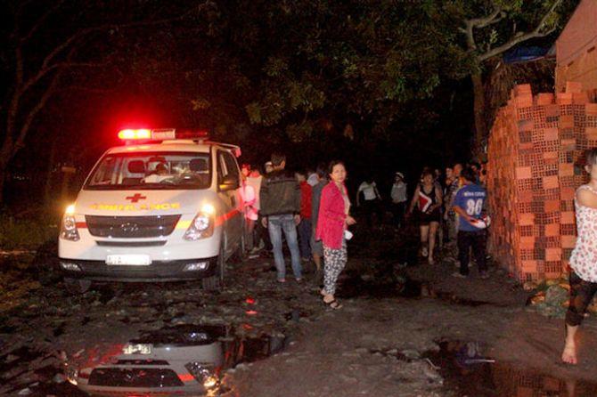 Thương tâm bé gái 4 tuổi chết thảm dưới hố nước