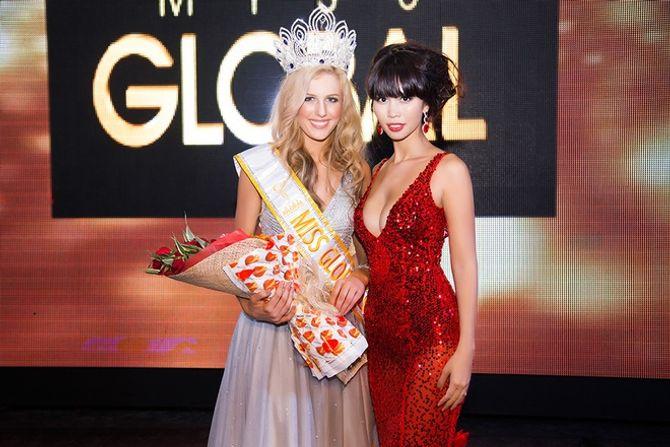 Người mẫu Australia đăng quang Hoa hậu Toàn cầu 2015 - Ảnh 3