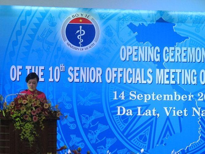 Khai mạc Hội nghị các Quan chức Cao cấp về Phát triển Y tế lần thứ 10 tại Đà Lạt - Ảnh 2