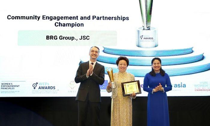 Kinh doanh - Tập đoàn BRG được vinh danh tại Giải thưởng Trao quyền cho phụ nữ (WEPs 2021)