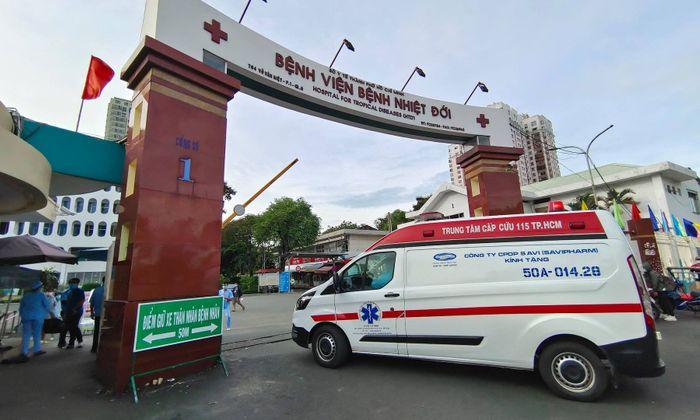 Tạm thời phong tỏa bệnh viện Bệnh Nhiệt đới TP HCM